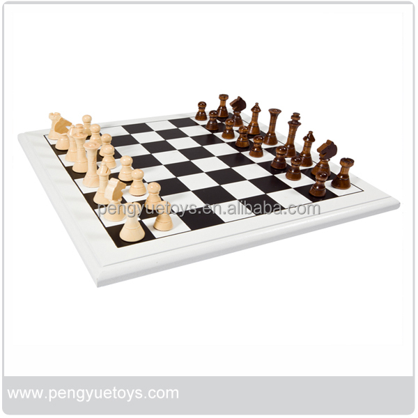 Wooden material international chess game for kids and adults