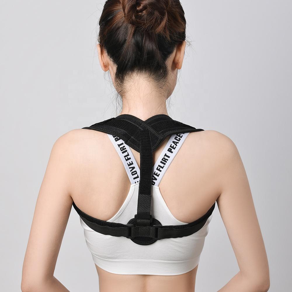 2019 Back Shoulder Posture Corrector Belt Medical Orthopedic Back Support Belt for hunchback relief back pain фото
