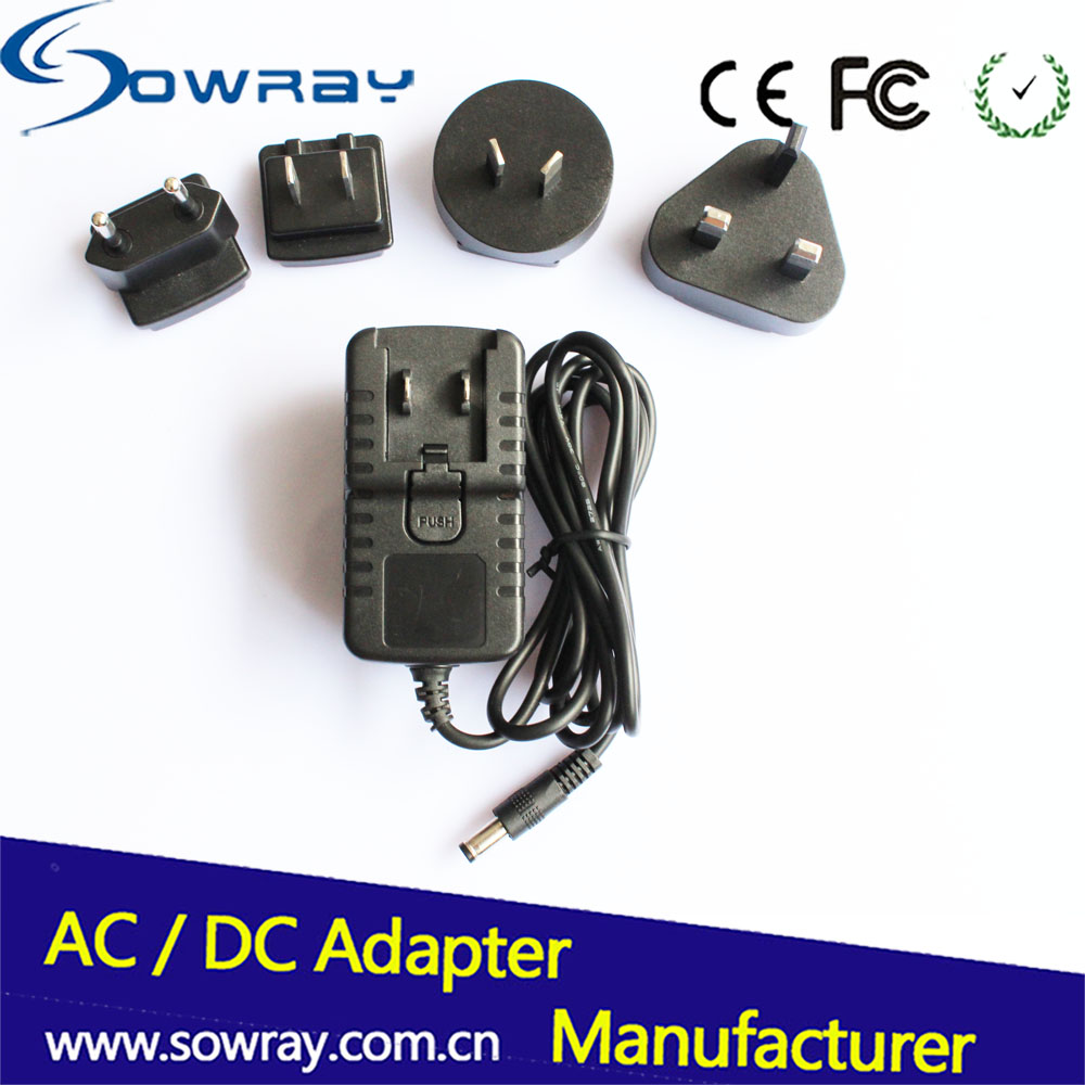Interchangeable Power Supply Tablet Charger 5V 2A 10W Power Adapter For PC Table