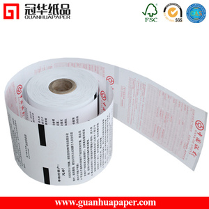 2015 Popular 76 x 70 Self Adhesive Paper Roll Thermal Paper