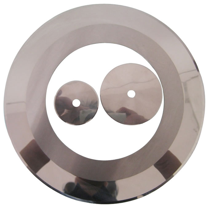 Cheap Price High Precision Tungsten Carbide Circular Round Rubber Cutting Blade