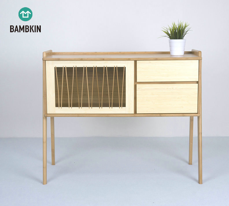 Bambkin Bamboo Furniture Console Table Standing Storage Cabinet Sideboard  Kitchen Side Organizer Cabinet - Buy Side Cabinet,Kitchen Side Cabinet,Free  ...