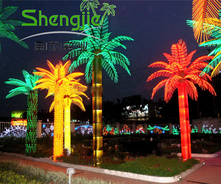 Wholesale Outdoor Light Up Artificial Led Palm Trees for Decoration