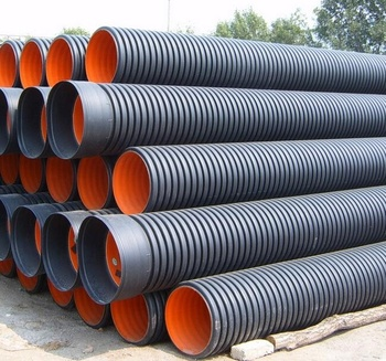 High Quality 16 inch double wall corrugated culvert pipe