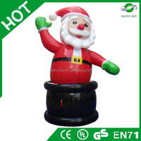 2015 Brand New Design Hot sale Christmas inflatable decoration, inflatable Santa Claus, decoration inflatable
