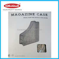 metal wire magazine holder used in office and home