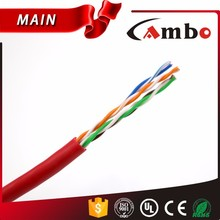 Free Samples Plenum Level lan cable cross connection 24AWG Bare Copper Conductor Bulk Wire