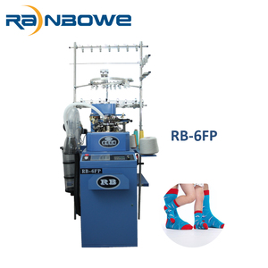 professional producer automatic singly cylinder small circular knitting machine socks manufacturers