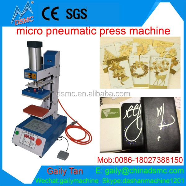 New Wholesale Best Price Small Portable Logo Heat Press