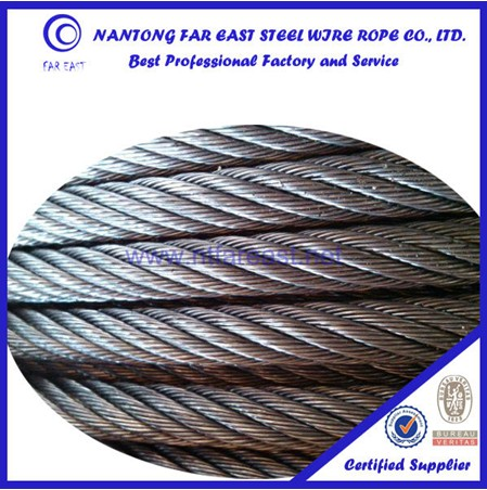 elevator steel ropes 8*19S,steel wire rope lifting ,ungalvanized steel wire rope