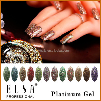 2017 New Arrivals Nail Art Designs Hollywood Nail Platinum Uv Gel