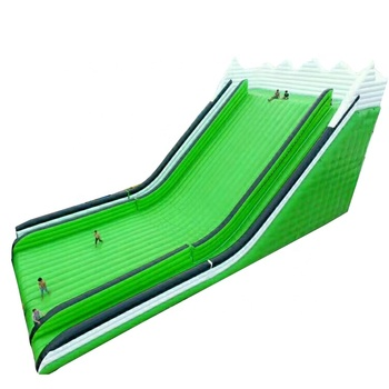 Green Big Fun China High Quality Giant Adult Inflatable Slide For Sale