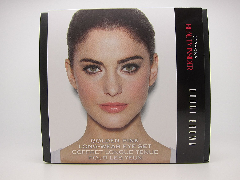 Sephora Beauty Insider Bobbi Brown Golden Pink Long Wear Eye Set