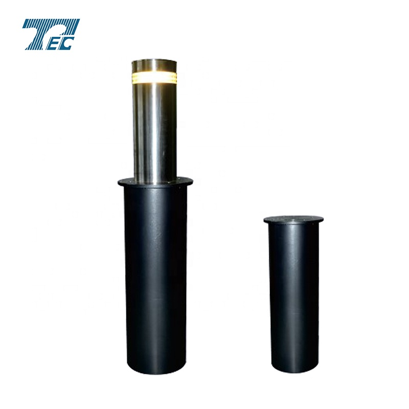 High sensitivity hydraulic lifting column road barrier for sale.