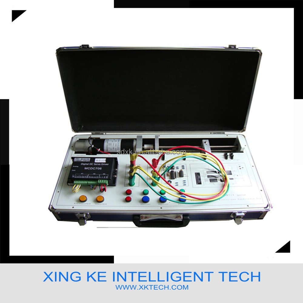 Educational kit,Electrical trainer,XK-MMT1A Dc Servo Motor Digital Closed-Loop Control Training Equipment ( position loop)