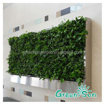 Garden Green House Artificial Green Wall Vertical Garden System