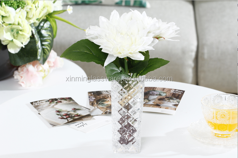 15cm Height Beaded Glass Vase Rectangular Vases Flower Vase Buy Flower Vase Rectangular Vases 15cm Height Beaded Glass Vase Product On Alibaba Com