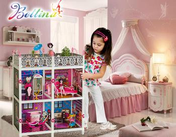 Mobili Per Casa Delle Bambole Fai Da Te : Nuovo più caldo dei bambini finta play barbiee grande casa delle