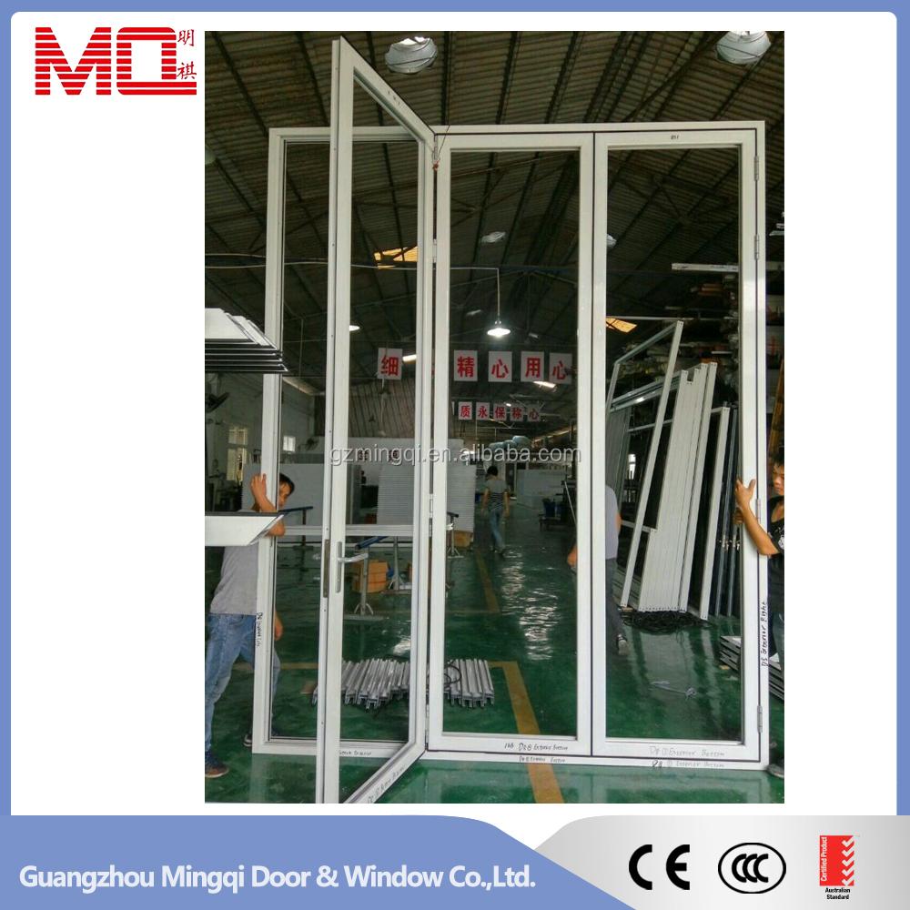 Akkordeon Aluminium Glas Terrasse Außen 24 Zoll Bifold Türen/Falttüren