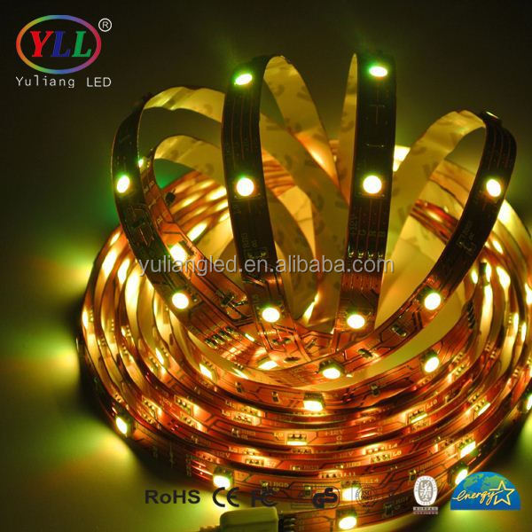 flexible led lighting dmx ws2811 led strip waterproof side emitting led strip