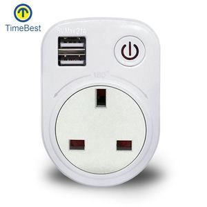 New Design wall mounted outlet usb controlled power socket
