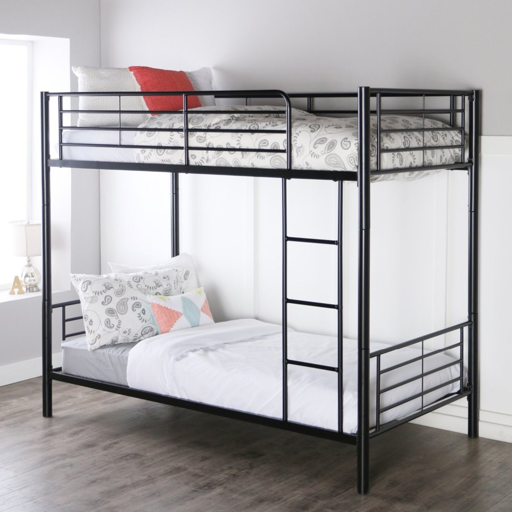 space saving design cheap wrought iron double bed metal
