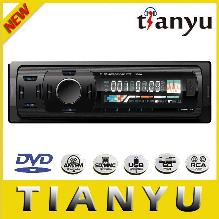 Large LCD Display Car MP3 Player with AM/FM/USB/SD/AUX In/car audio/RDS/DAB