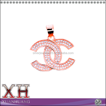 Xuan huang wholesale sterling silver jewelry brand logo pendant xuan huang wholesale sterling silver jewelry brand logo pendant aloadofball Images