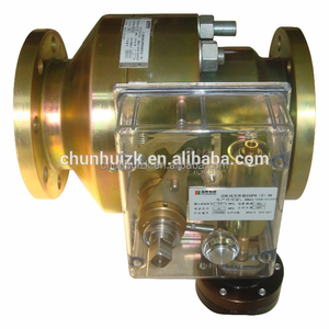 Cut off valve for gas pressure regulation system