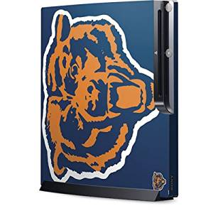 NFL Chicago Bears Playstation 3 & PS3 Slim Skin - Chicago Bears Retro Logo Vinyl Decal Skin For Your Playstation 3 & PS3 Slim
