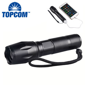 Led Tactical Flashlight with Strobe Best Tactical Flashlight Rechargeable led Brightest Tactical Flashlight with USB Charger