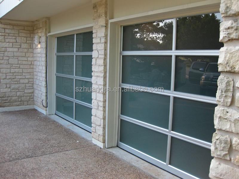 Bon Electric Powder Coated Aluminum Alloy Frame Glass Screen Panels Sliding Garage  Door Lowes   Buy Powder Coated Aluminum Alloy Frame,Sliding Garage Door ...