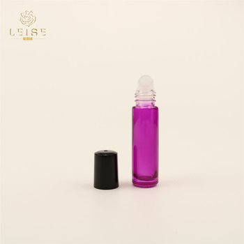 tall perfume essential oil lip balm oil amber glass roll on glass bottle 10ml