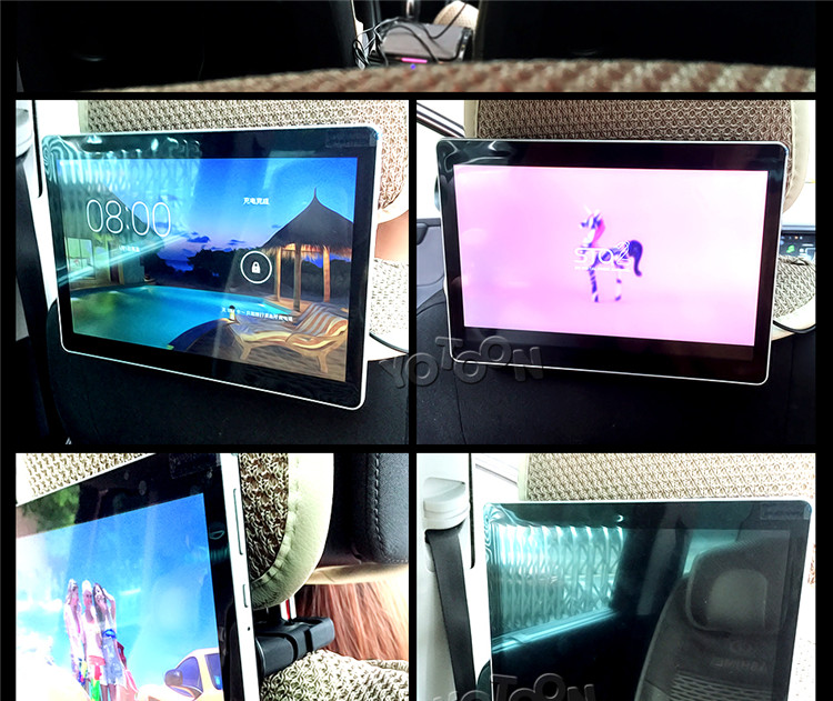 10.1 inch Headrest Monitor Android with 3G/WiFi/USB/SD Universal for any Car