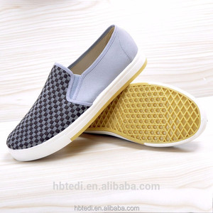 manufacturers comfort and breathe high quality china slip-on canvas shoes for men custom sheos