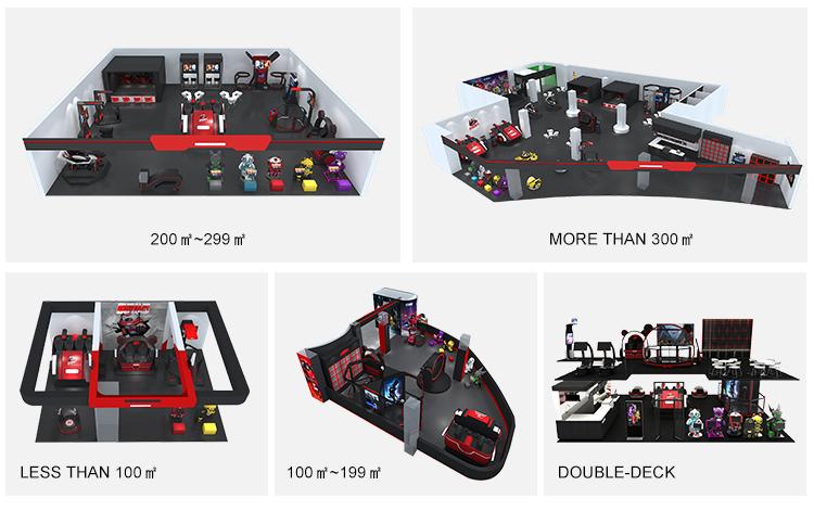 VR الواقع الافتراضي رخيصة عملة تعمل ألعاب ركوب للأطفال كاروسيل الألياف الزجاجية كاروسيل ركوب لعبة
