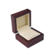 Fashion Stock Wooden Red Jewelry Ring box small Wholesale custom jewelry ring box