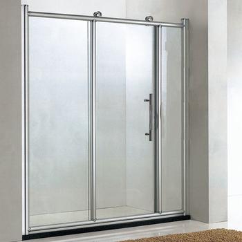 Beau Bathroom 8mm 3 Doors Frameless Tempered Glass Triple Sliding Shower Screen  Door Cubicle Wall Panels