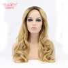 Body Wavy Wigs Ombre Blonde Synthetic Hair Wig
