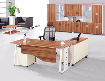 Beautiful Modern Executive Desk And Chair Designs Specifications, Office Boss Table  Models (CD 89911
