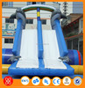 Used Backyard Commercial Inflatable Paradise Bouncer and Slide for sale