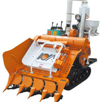 Hot sell in Philippines mini rice harvester/mini paddy harvest machine