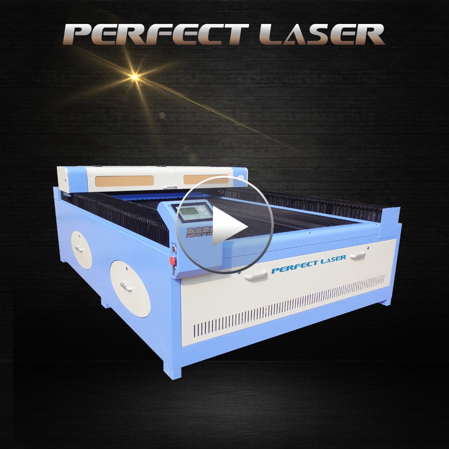acrylic wood PVC MDF fabric foam leather rubber co2 laser cutter for sale
