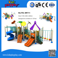 giant outdoor playground with many types game in one
