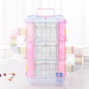 Transparent Manufacture Clear Acrylic Hamster Cage
