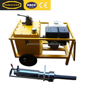 Movable Quarry Hard Rock Splitter Machine Equipment For Sale