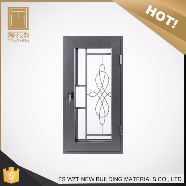 China oem manufacturer cheap american stype casement window with double pane