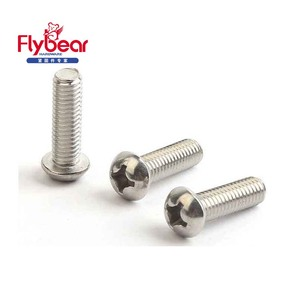 304HC machine screws DIN7985 stainless steel 316 cross recessed cheese head bolt lengthened customized M8x250 fastener