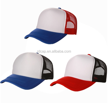 b34faebbfde74 daddy hat 5 panel foam nylon mesh hats trucker caps custom sublimation heat  transfer logo blank
