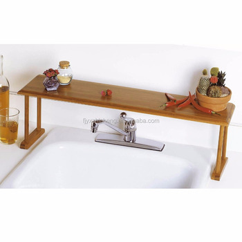Bamboo Badezimmer Countertop-speicher-organisator-rack Bambus Over-the-sink  Regal - Buy Diy Organizer Regal,Bad Ecke Regal,Bambus Display Regal ...